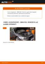 Levegőszűrő-csere BMW E92 gépkocsin – Útmutató