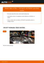 Mainīties VW GOLF V (1K1) Eļļas filtrs - soli-pa-solim pamācības PDF