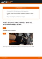 Kā nomainīt: priekšas stabilizatora atsaites BMW E92 - nomaiņas ceļvedis