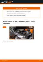 Kā nomainīt: gaisa filtru BMW E92 - nomaiņas ceļvedis