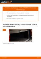 Žingsnis po žingsnio pakeiskite VOLVO V70 II (SW) Amortizatorius PDF vadovas