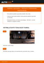 VW gale ir priekyje Spyruoklės keitimas pasidaryk pats - internetinės instrukcijos pdf