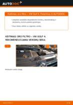 Sužinokite apie mūsų išsamų mokymą, kaip išspręsti Variklio oro filtras problemą VW