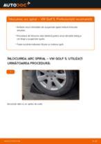 Cum se înlocuiesc și se ajustează Arc fata VW GOLF: manual pdf