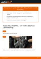 Aflați cum să ajustează Arc spirala spate și față VW
