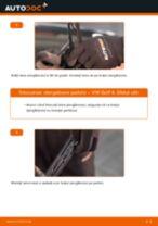 Instalare Lamela stergator față și spate VW cu propriile mâini - online instrucțiuni pdf