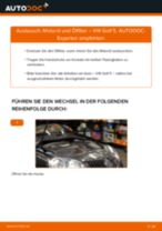 Schritt-für-Schritt-PDF-Tutorial zum Ölfilter-Austausch beim VW GOLF V (1K1)