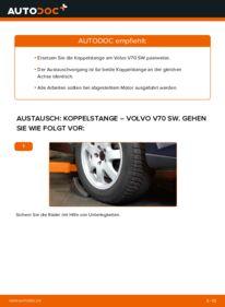 Wie der Wechsel durchführt wird: Koppelstange 2.4 Volvo V70 SW tauschen