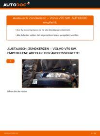 Wie der Wechsel durchführt wird: Zündkerzen 2.4 Volvo V70 SW tauschen