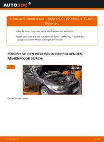 Wie der Wechsel durchführt wird: Zündkerzen 335i 3.0 BMW E92 tauschen