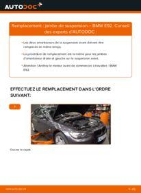 Comment effectuer un remplacement de Amortisseurs sur 335i 3.0 BMW E92