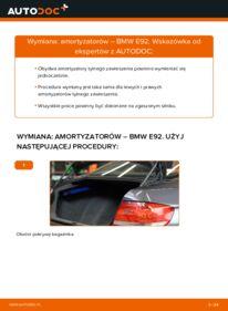 Jak przeprowadzić wymianę: Amortyzator w BMW 3 SERIES
