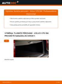Jak provést výměnu: Tlumic perovani na 2.4 Volvo V70 SW