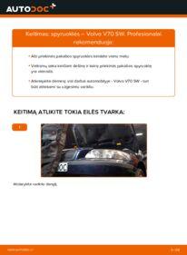 Kaip atlikti keitimą: 2.4 Volvo V70 SW Spyruoklės