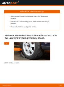 Kaip atlikti keitimą: 2.4 Volvo V70 SW Pasukimo trauklė