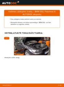 Kaip atlikti keitimą: 335i 3.0 BMW E92 Uždegimo žvakė