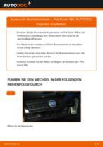 Wie Fiat Punto 188 Bremstrommeln wechseln - Anleitung