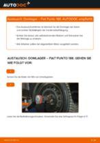 Wie Fiat Punto 188 Domlager vorne wechseln - Anleitung