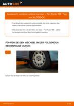 Wie Fiat Punto 188 vorderer unterer Lenker wechseln - Anleitung