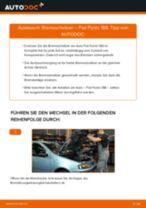 Wie Fiat Punto 188 Bremsscheiben vorne wechseln - Anleitung