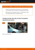 Wie wechselt man Luftfiltereinsatz Auto Ersatz beim FIAT PUNTO (188)