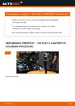 Hoe veerpoot vooraan vervangen bij een VW Golf 5 – Leidraad voor bij het vervangen