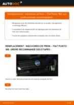 Instructions gratuites en ligne sur comment rénover Jeu de mâchoires de frein FIAT PUNTO (188)