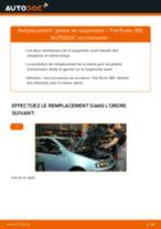 PDF manuel de remplacement: Amortisseur FIAT PUNTO (188) arrière + avant