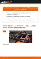 Notre guide PDF gratuit vous aidera à résoudre vos problèmes de NISSAN NISSAN LEAF Elektrik Essuie-Glaces
