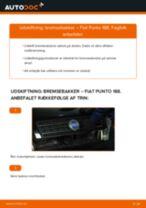 Udskiftning af Bremsebelægning bag og foran FIAT gør det selv - online manualer pdf