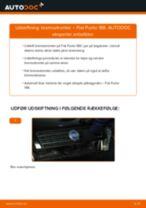 Udskift bremsetromler - Fiat Punto 188 | Brugeranvisning