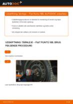 Udskift tårnleje for - Fiat Punto 188 | Brugeranvisning