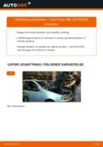 Automekaniker anbefalinger for udskiftning af FIAT Fiat Punto 188 1.2 16V 80 Viskerblade