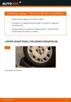 Udskift hjullejer bag - Fiat Punto 188 | Brugeranvisning