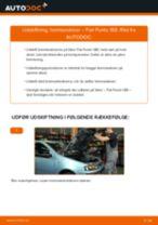 Udskift bremseskiver for - Fiat Punto 188 | Brugeranvisning