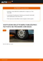Come cambiare biellette barra stabilizzatrice della parte anteriore su Fiat Punto 188 - Guida alla sostituzione