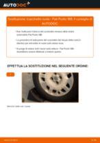 Come cambiare cuscinetto ruota della parte posteriore su Fiat Punto 188 - Guida alla sostituzione