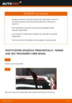 Sostituzione Ganasce dei freni NISSAN LEAF: pdf gratuito