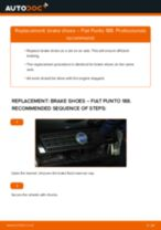 Auto mechanic's recommendations on replacing FIAT Fiat Punto Mk2 1.2 16V 80 Brake Pads