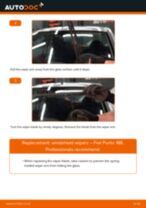 Changing Anti Roll Bar Bushes FIAT PUNTO: workshop manual