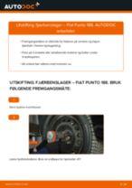 Hvordan bytte Hjelpebremselys Ford Transit mk7 Minibuss - guide online