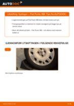 Slik bytter du hjullager bak på en Fiat Punto 188 – veiledning