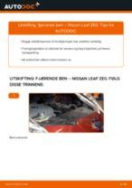 Veiledning på nettet for å skifte Tennspolen i Peugeot 206 cc 2d selv