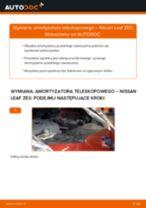 Wymiana Amortyzator NISSAN LEAF: instrukcja napraw