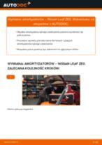 Wymiana Pompa hamulcowa: pdf instrukcje do NISSAN LEAF