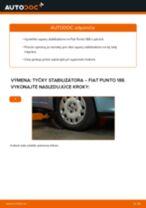 Odporúčania od automechanikov k výmene FIAT Fiat Punto 188 1.2 16V 80 Tlmič pruzenia