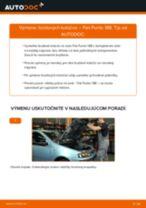 FIAT MAREA príručka údržba a opravy