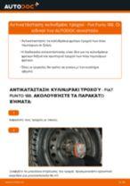 Δωρεάν οδηγίες για Κυλινδράκια τροχών FIAT PUNTO (188) αλλάξετε