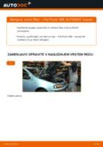 Zracni filter FIAT PUNTO (188) | PDF vodič za zamenjavo