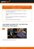 Pidurisilinder vahetus: pdf juhend FIAT PUNTO